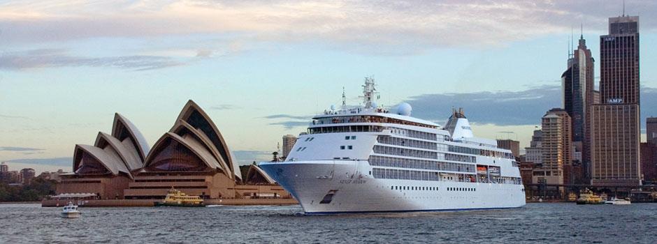 Silversea Australia And Silversea New Zealand Cruises Silversea - New zealand cruise
